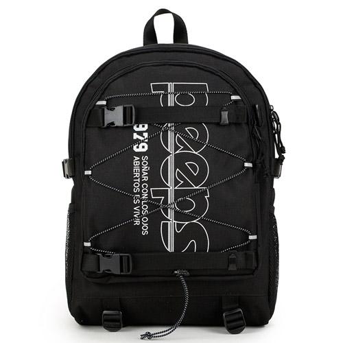 [4종사은품][핍스] progressive backpack(black) 스트링 백팩