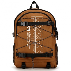핍스 progressive backpack(brown) 스트링 백팩