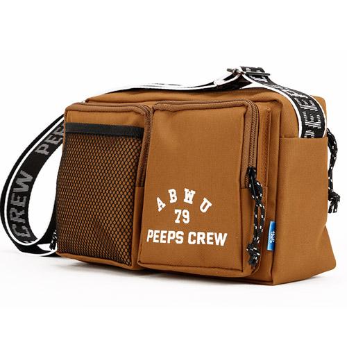 핍스 PEEPS ABWU cross bag(brown) 크로스백