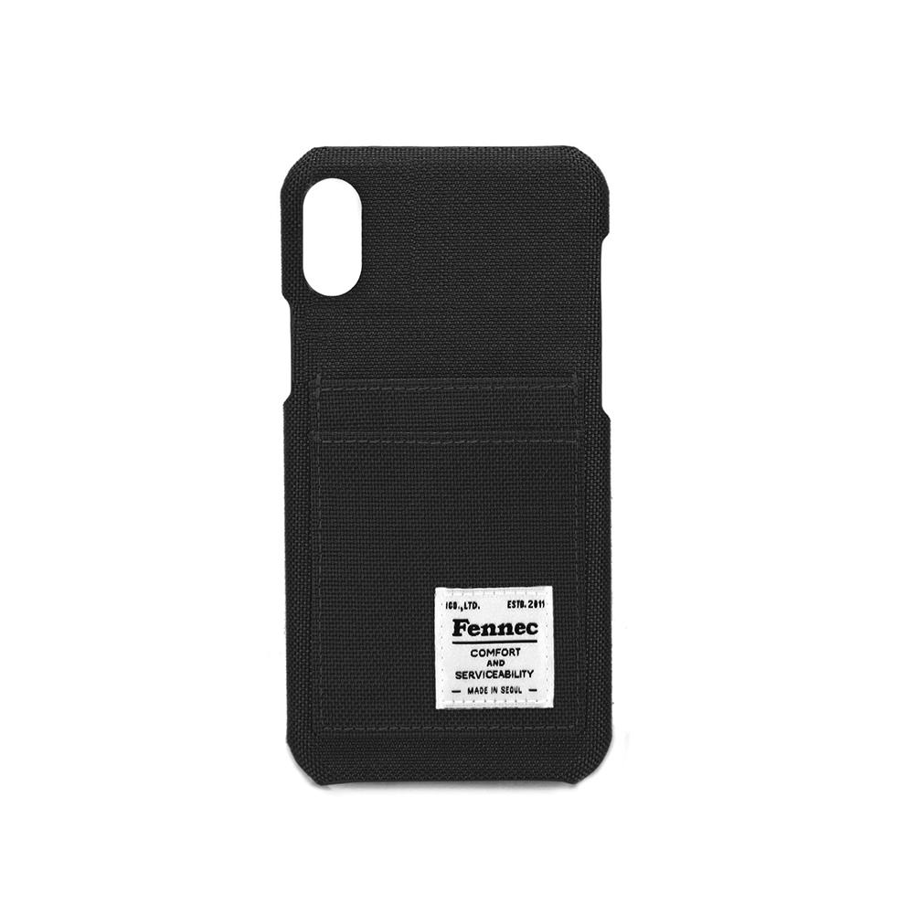 [페넥]FENNEC C&S iPHONE XR CARD CASE - BLACK아이폰케이스 휴대폰케이스