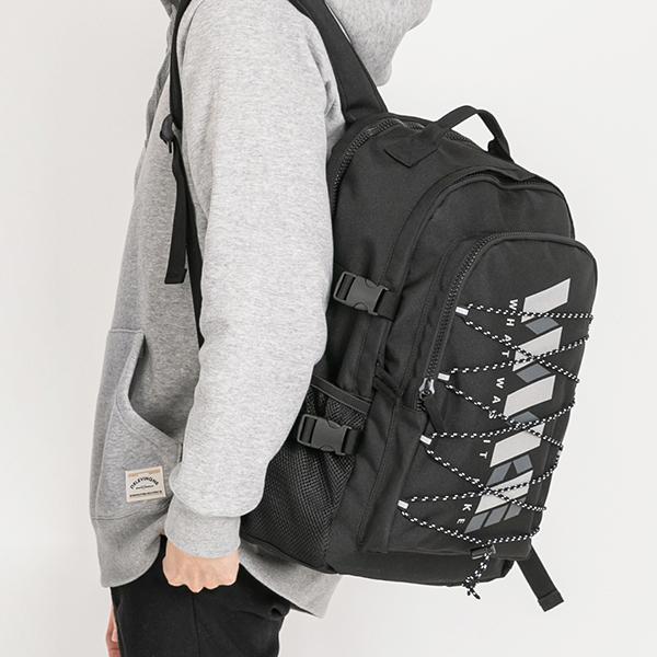 [와이크] WWIKE 리플렉트 백팩 - 블랙 학생백팩 신학기