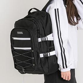 [와이크] WWIKE 스니커 백팩 - 블랙앤화이트 학생백팩 신학기