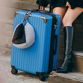 [비아모노] 확장형 VITO 30in TRAVELBAG (BLUE) (캐리어벨트+커버) 하드캐리어