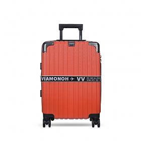 [비아모노] 확장형 VITO 20in TRAVELBAG (RED) (캐리어벨트+커버) 하드캐리어