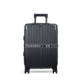 [비아모노] 확장형 VITO 20in TRAVELBAG (D.SILVER) (캐리어벨트+커버) 하드캐리어