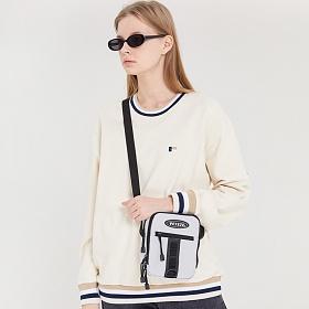 베테제 - Uptro Cross Bag (light gray) 업트로 크로스백 (라이트 그레이)