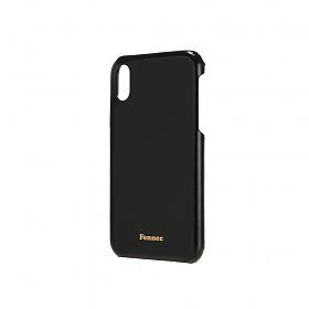 [페넥] FENNEC LEATHER iPHONE CUSTOM FLAT CASE - BLACK 레더 폰케이스 아이폰케이스 휴대폰케이스 가죽케이스
