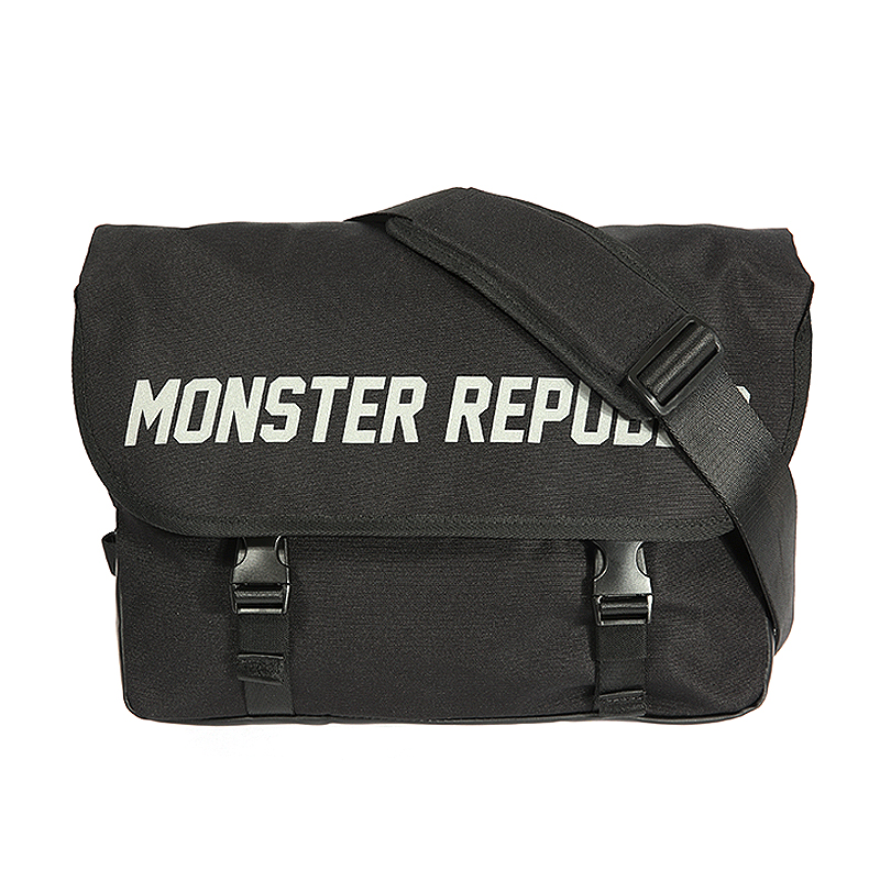 몬스터리퍼블릭 MONSTER SCOTCH MESSENGER BAG /BLACK