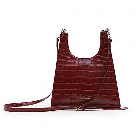 [브라비시모]메텔(metel bag) - Burgundy 여성가방