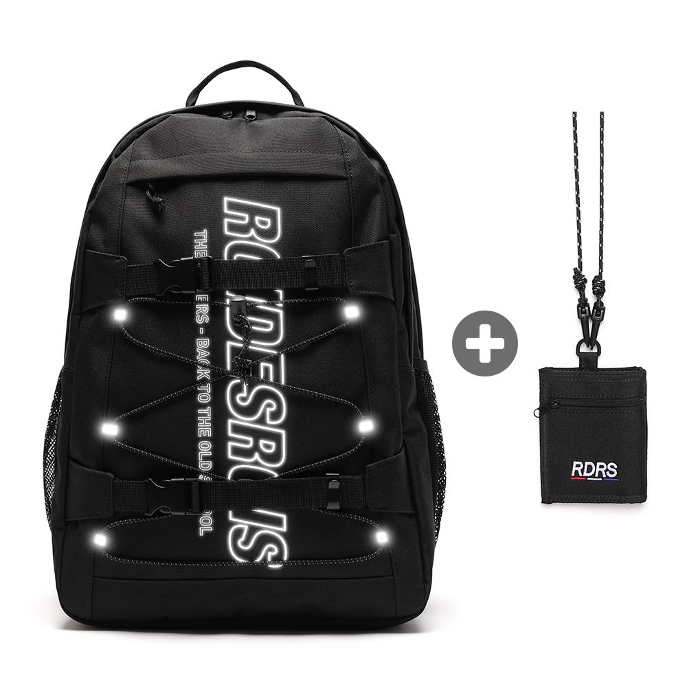 [세트 상품][로아드로아] RDR 3D MATRIX BACKPACK (4COLOR) + RDRS STRING WALLET 백팩+목걸이 지갑
