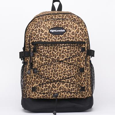 [나잇러브솔트] NIGHT LOVE SALT - NLS leopard backpack 레오파드 백팩