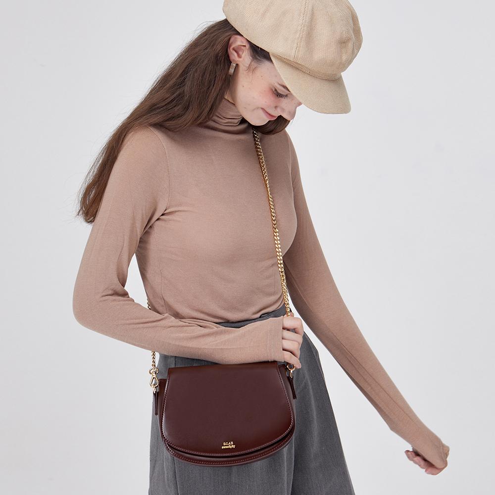 [디랩]D.LAB - Momo bag - Burgundy 모모백 크로스백 숄더백 체인백