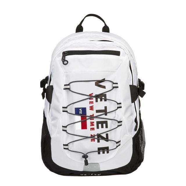 베테제 - Big Logo Backpack (white) 빅로고 스트링 백팩 (화이트)