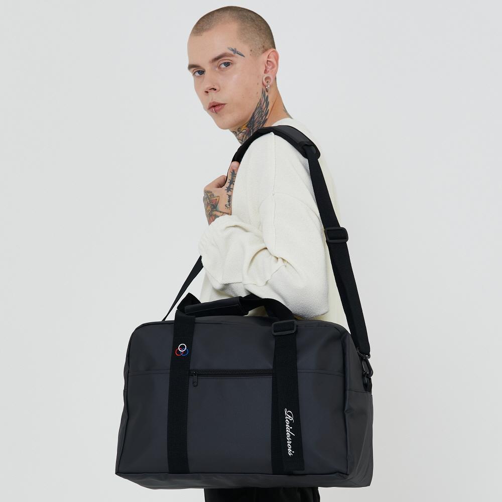 [로아드로아] BAAM BOSTON BAG (JET BLACK) 제트블랙  보스턴백 숄더백 크로스백 가방
