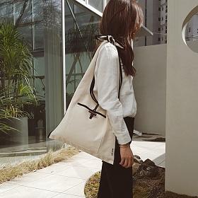 [무이쿠이]MOIQUI - 쥬이 lg 숄더백 (c_blk) 에코백 여성가방