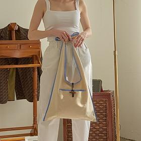 [무이쿠이] MOIQUI - 쥬이 lg 숄더백 (c_blue) 에코백 여성가방
