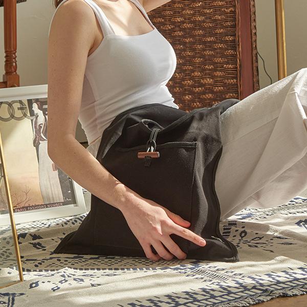 [무이쿠이] MOIQUI - 쥬이 lg 숄더백 (b_blk) 에코백 여성가방