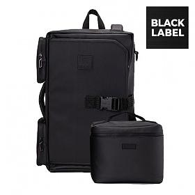 [단독판매]보온보냉백 set[원알엠]ONERM RM16BP2 MONSTER30 MARK3 BLACK LABEL ALL BLACK 블랙라벨 백팩 헬스 운동