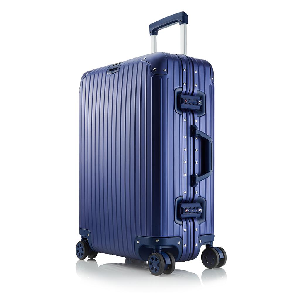 브라이튼 킬브 20인치 풀 알루미늄 기내용 여행용캐리어 여행가방 케리어 블루 하드캐리어