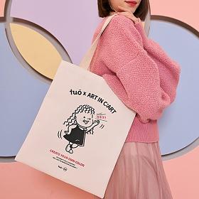 [투오]쇼티 에코백_코랄 숄더백 여성가방