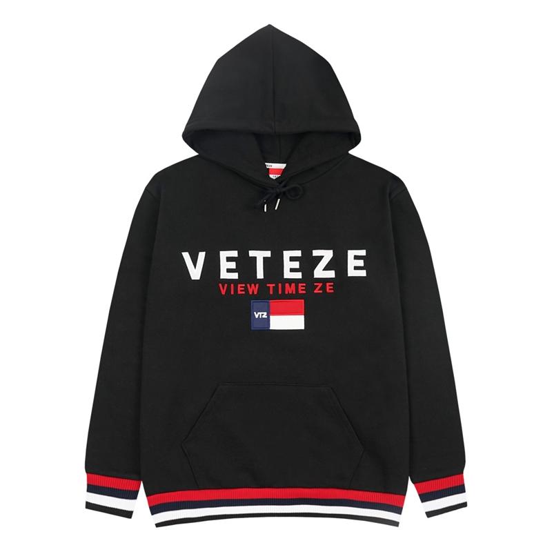베테제 - Big Logo Hood 2 (black) 빅로고 후드 2 (블랙)