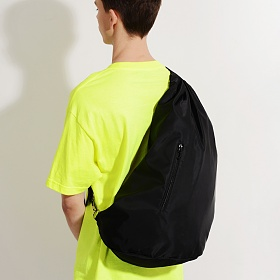[피스메이커] NYLON TWILL SLING BAG (BLACK)