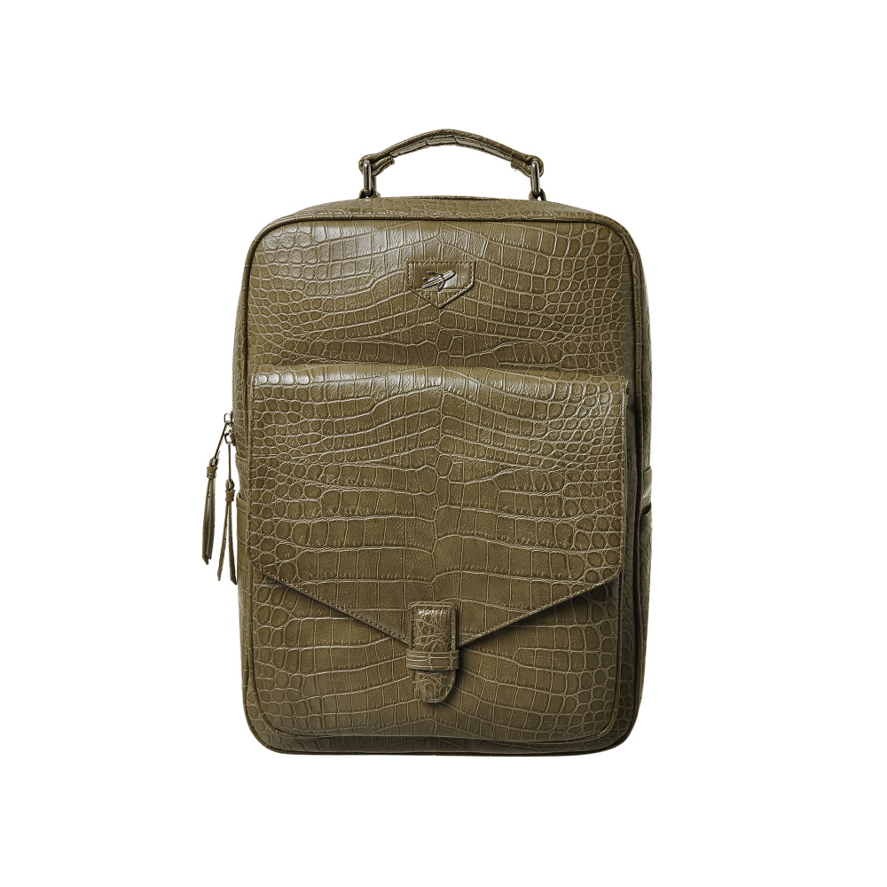 [비아모노] MODS STELLA SQUARE BACKPACK (KHAKI) 백팩