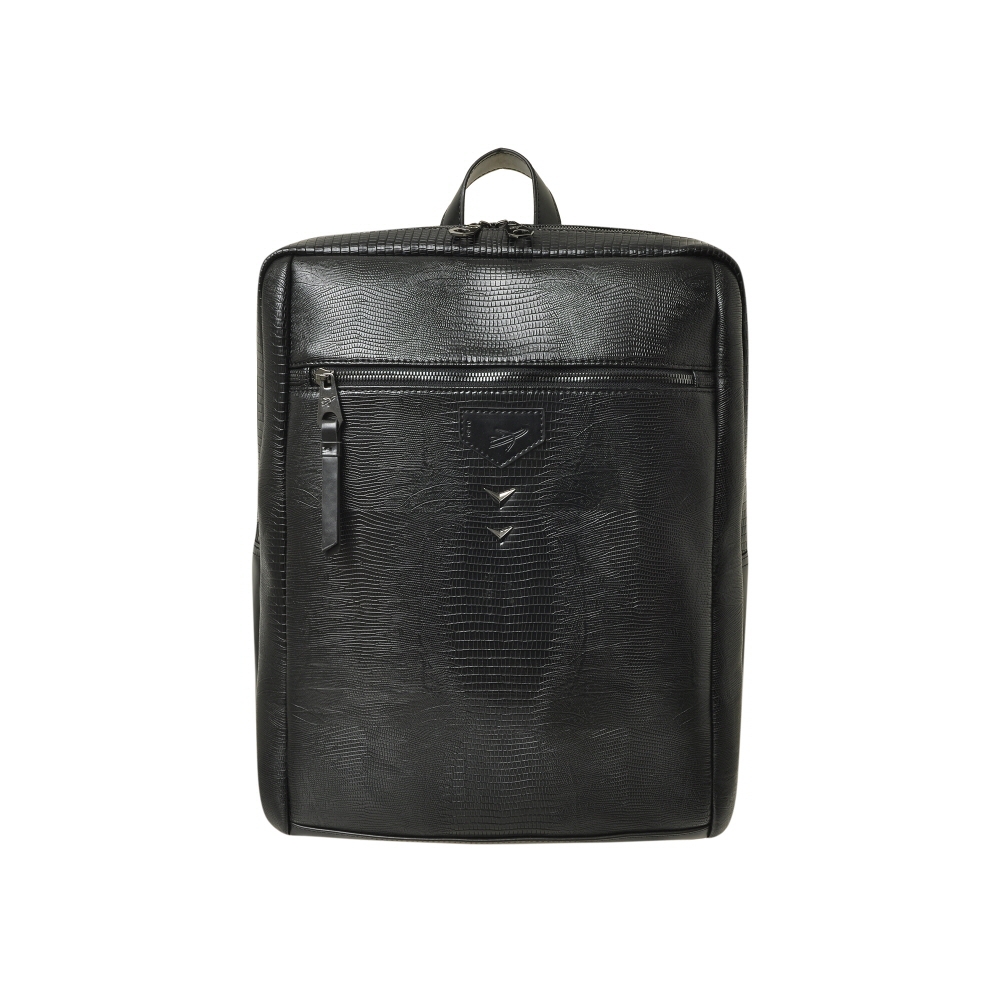 [비아모노] LIZARD MENS BACKPACK (BLACK) 백팩