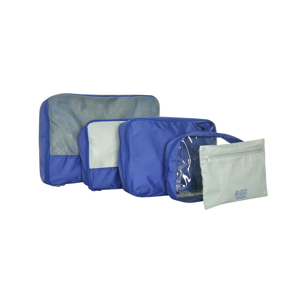[비아모노] TRAVEL LINE PACKAGE 5SET (BLUE) 수납팩 패키지