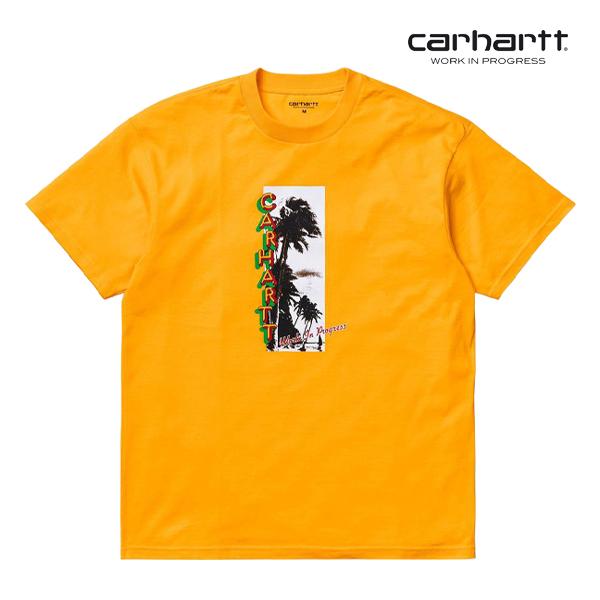 칼하트WIP S/S Montego T-Shirt (Sunflower)