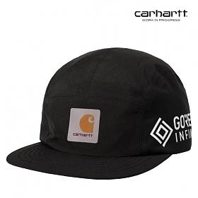 [칼하트WIP] CARHARTT WIP - Gore Tex Point Cap (Black) 고어텍스 포인트 캡 캠프캡 모자