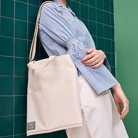 [투오]모디 에코백_화이트 숄더백 여성가방