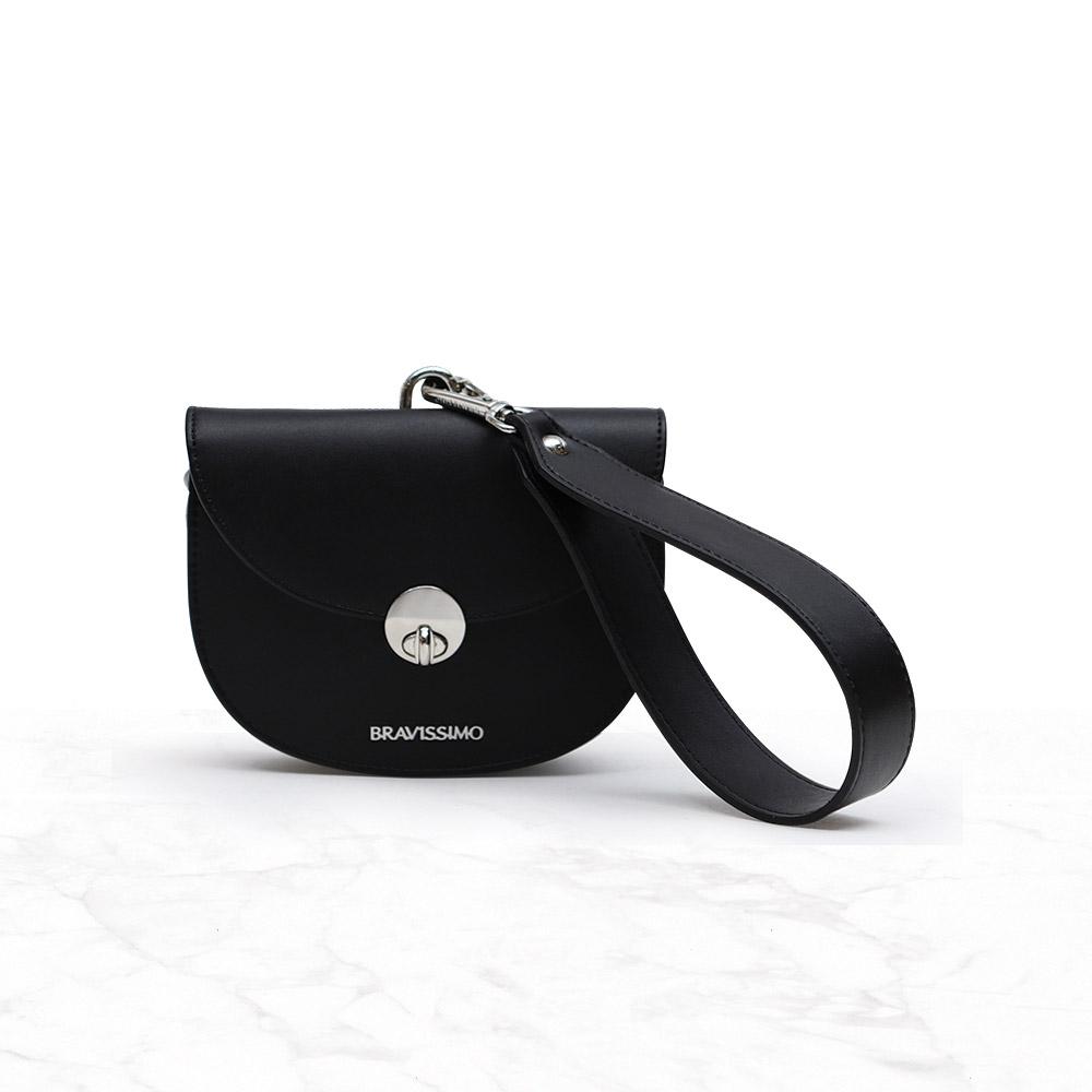 브라비시모 윙크 Black 숄더백 여성가방