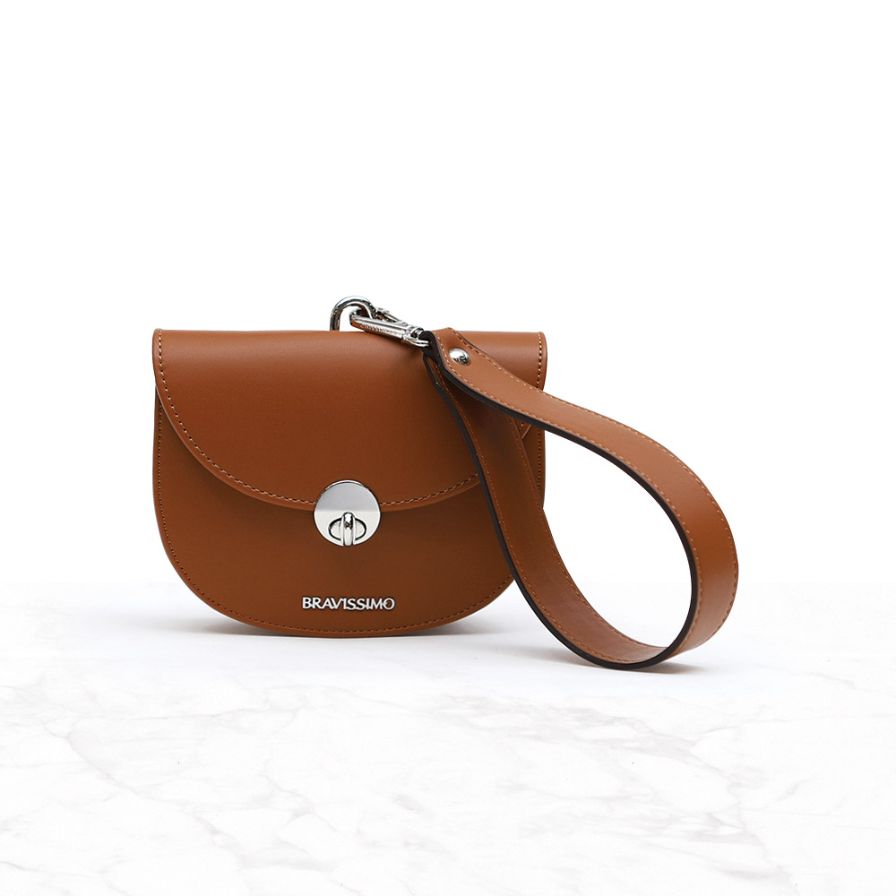 [브라비시모]윙크(wink bag) - Brown 토트백 크로스백 숄더백 여성가방