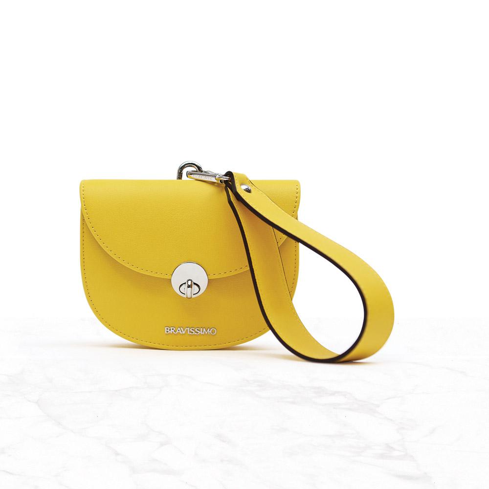 [브라비시모]윙크(wink bag) - Yellow 토트백 크로스백 숄더백 여성가방
