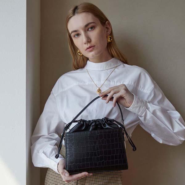 [세미코드] SEMICODE  - Tiam bag - black 여성가방