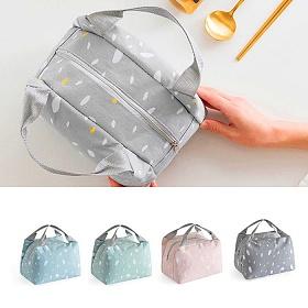 [트래블이지] JP 사회적거리두기 도트무늬 도시락 쿨링백 도시랑가방 보냉백