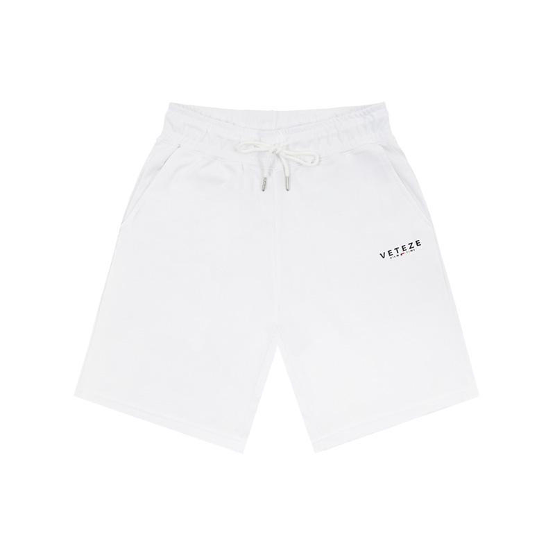 베테제 - Signature Logo Shorts (white) 시그니처 로고 쇼츠 (화이트)