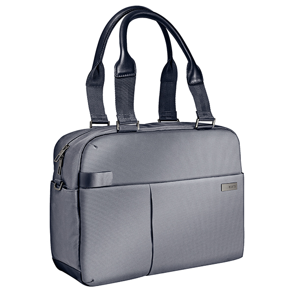 [라이츠] LEITZ - LAPTOP SHOPPER BUSINESS BAG (Silver) 랩탑 쇼퍼백 회사원가방 비즈니스가방
