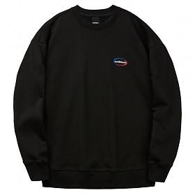 [에시드블랙] ACIDBLACK - INFINITY EMB MTM (BLACK) 맨투맨 스��셔츠 크루넥