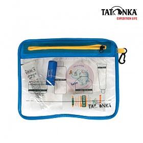 타톤카 플라이트 백 Zip Flight Bag A5 (transparent)