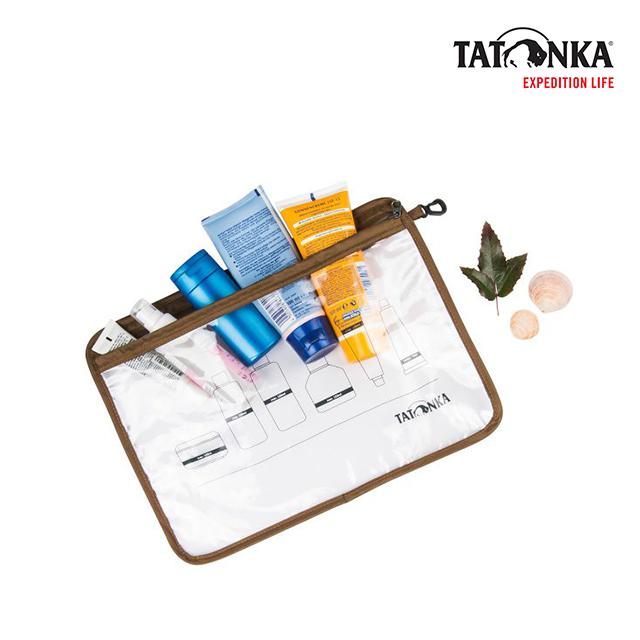 타톤카 플라이트 백 Zip Flight Bag A4 (transparent)