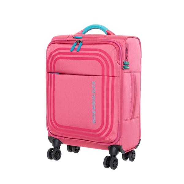 [만다리나덕]MANDARINADUCK - BILBAO cabin frequent flyer VAV0226E (hot pink) 19인치 소프트캐리어