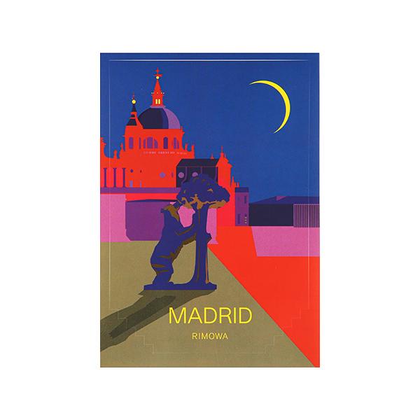 [리모와]MADRID LANDMARK 마드리드 50900020 리모와 정품 스티커