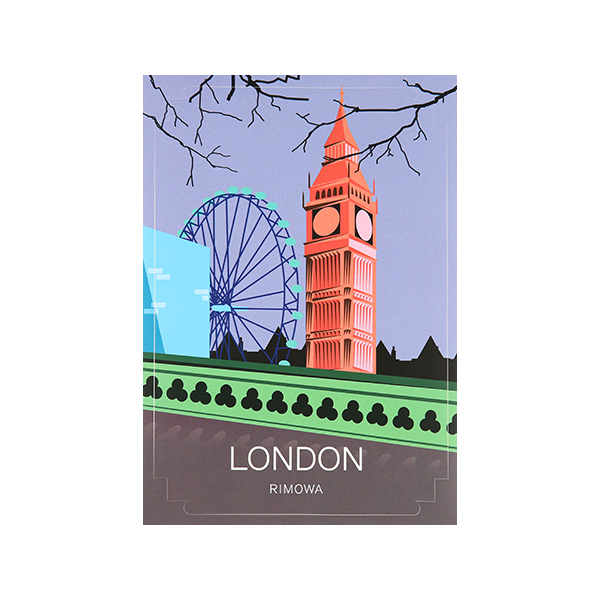 [리모와]LONDON LANDMARK 런던 50900030 리모와 정품 스티커