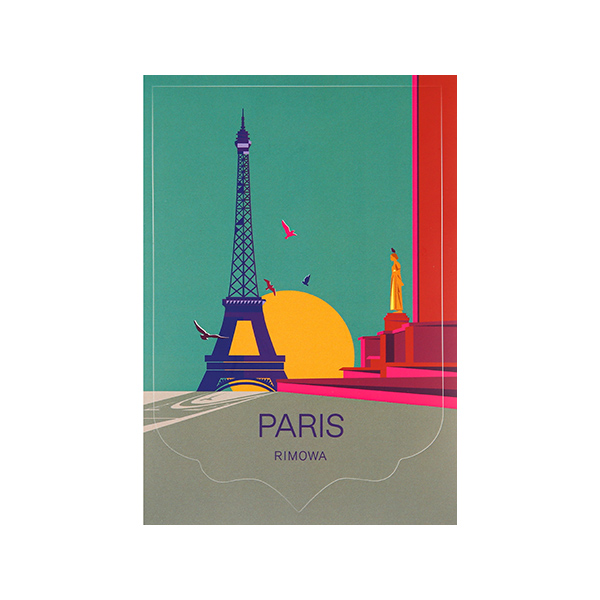 [리모와]PARIS LANDMARK 파리 50900040 리모와 정품 스티커