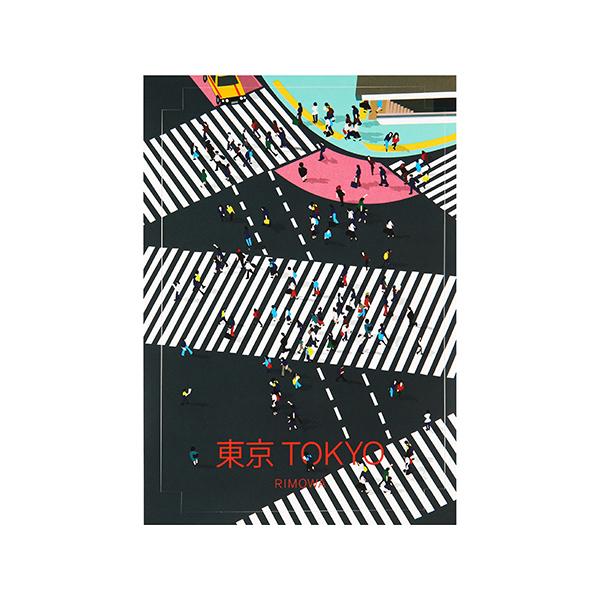 [리모와]TOKYO LANDMARK 도쿄 50900050 리모와 정품 스티커