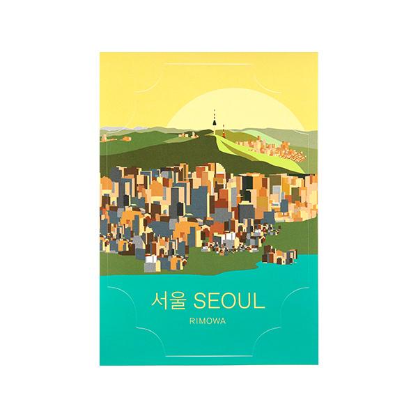 [리모와]SEOUL LANDMARK 서울 50900340 리모와 정품 스티커