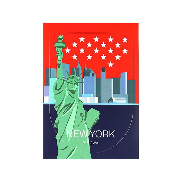 [리모와]NEW YORK LANDMARK 뉴욕 50900360 리모와 정품 스티커