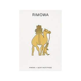 [리모와]CAMEL 낙타 50900210 리모와 정품 스티커